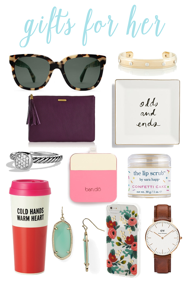 Holiday Gift Guide For Her Just Peachy Blog