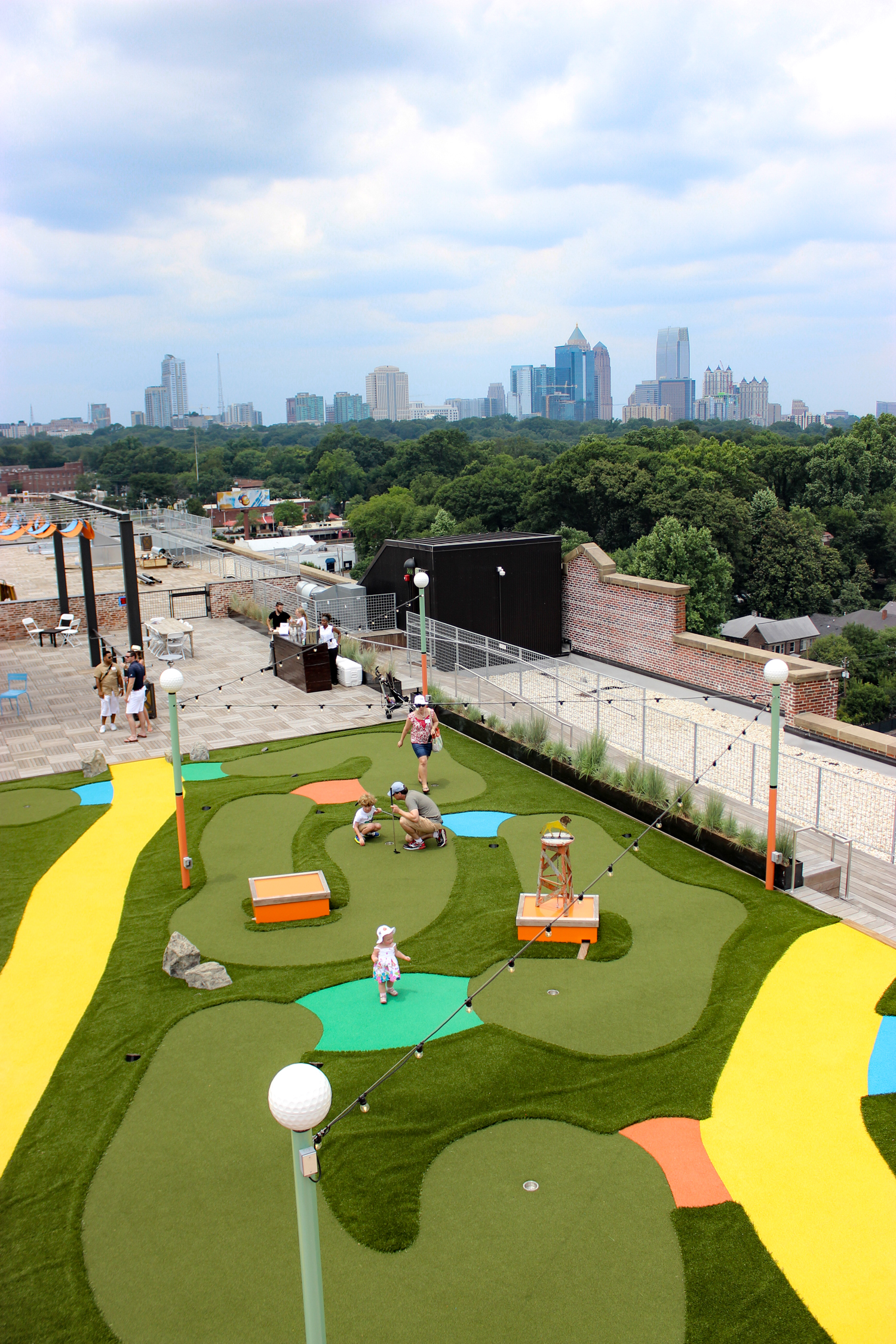 Things to do in Atlanta | Skyline Park Ponce City Market Rooftop