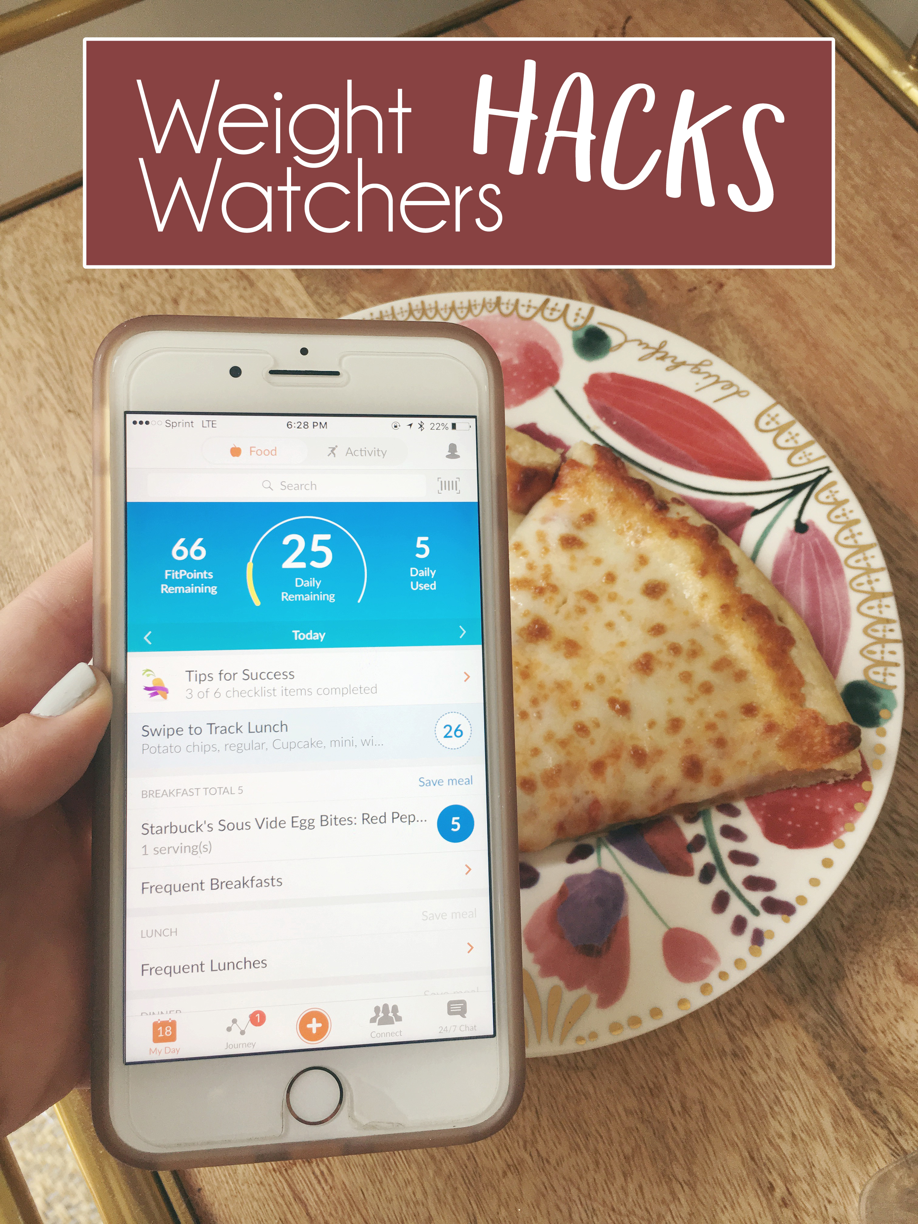 Weight Watchers Hacks | Just Peachy Blog